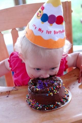 ¡MI primer cumpleaños!