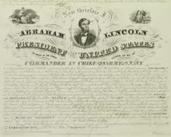 emancipation announced