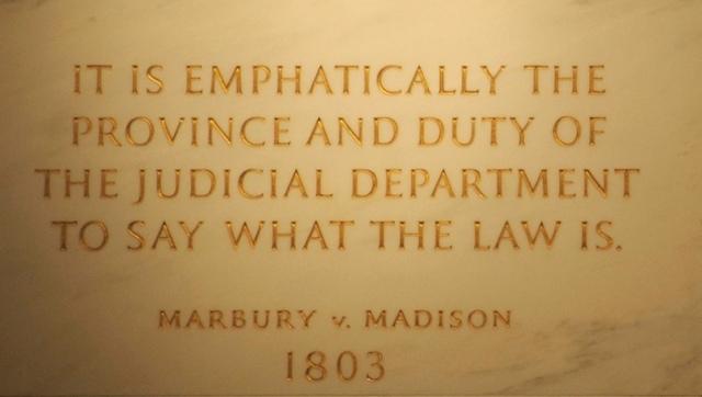 Marbury V.s Madison