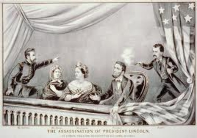 assassinated at fords theater
