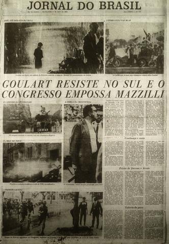 Inicia el golpe de estado en Brasil contra el presidente de iaquierda Joao Goulart.