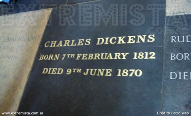 Dickens muere