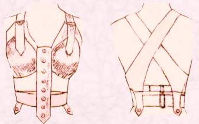 First Brassiere Made