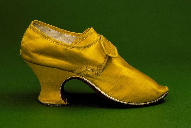 High Heels, 1750's to next cent.