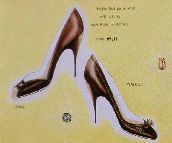 Stiletto Heel Introduced