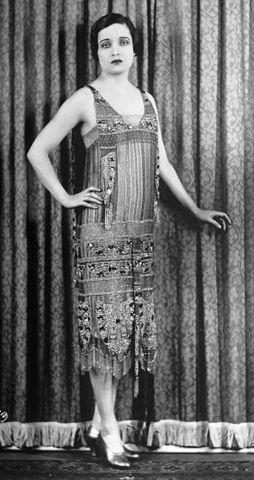 Iconic Flapper Dresses, 1924