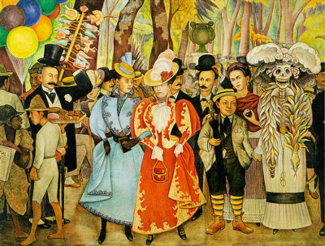 Mexican Muralist Movement from 1920 - 1940