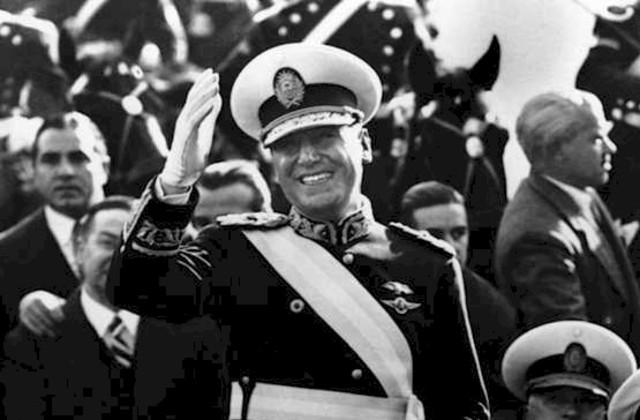 Juan Peron elected as President of Argentina