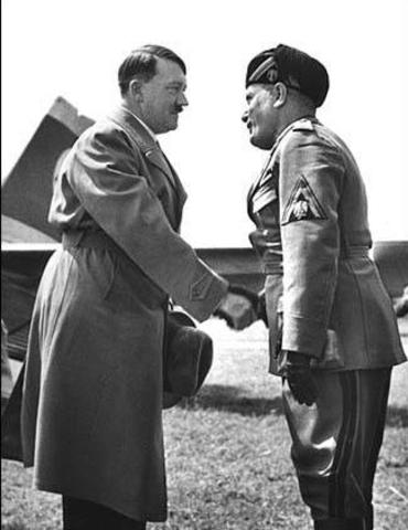 Mussolini Exchanges Diplomats