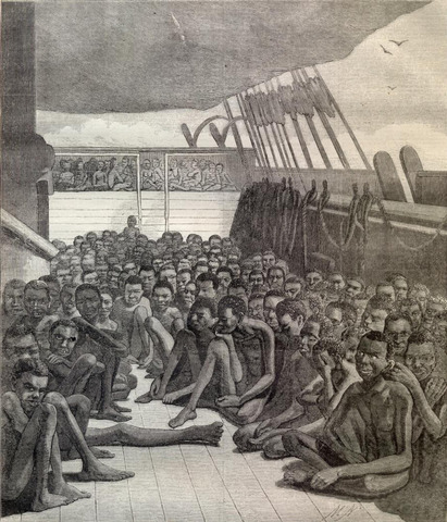Import of African slaves