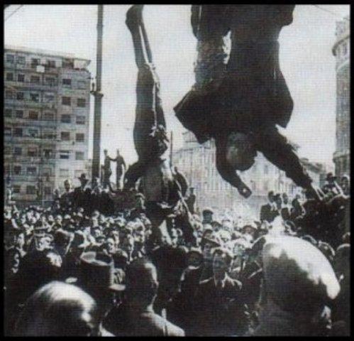 Mussolini Captured