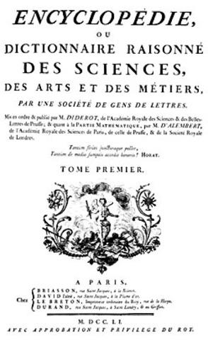 Establishment of the Encyclopedia