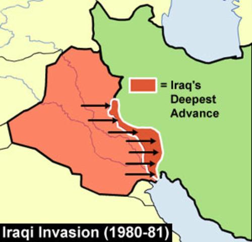 US backs Iraq's invasion of Iran