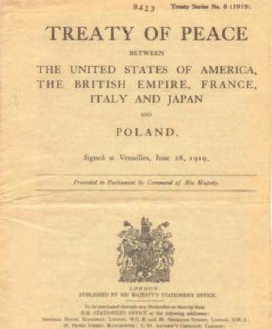 Peace Treaty is Signed