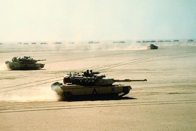The Gulf War Starts