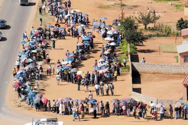 First Democratic elections in South Africa are Held