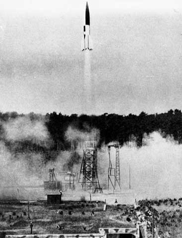 Hitler Launches V1 and V2 Missiles at Britain