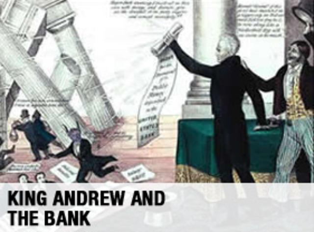 Andrew Jackson's bank-veto