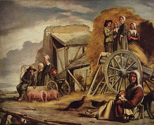 The Farm Wagons (the cart returning from the hay)