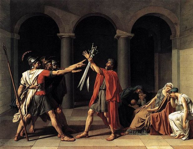 The Oath of Horatii
