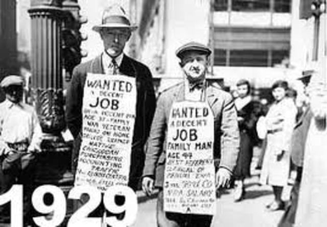 """La Crisis del 29 """"Gran Depresión"""""""