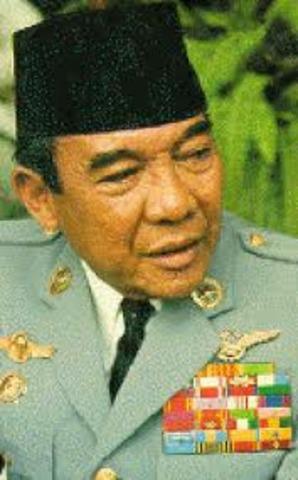1th president Soekarno