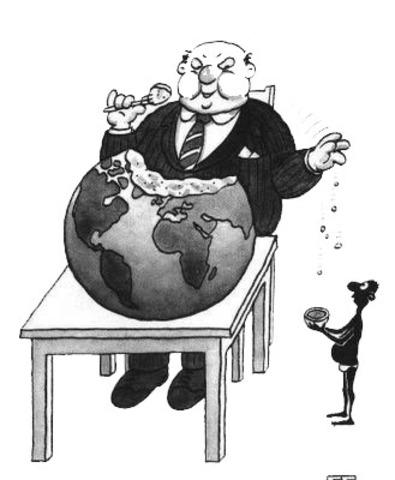 Reacomodacion de la economía mundial, EEUU se posiciona como el nuevo centro del sistema capitalista mundial.