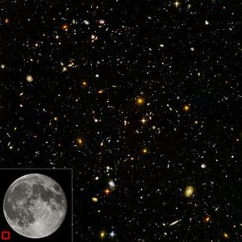 Maps of the universe's macrostructure reveal that galaxies are not distributed uniformly throughout the universe. Instead, the universe has a foamlike structure in which galaxies and galaxy clusters lie on the surface of bubbles containing enormous voids.