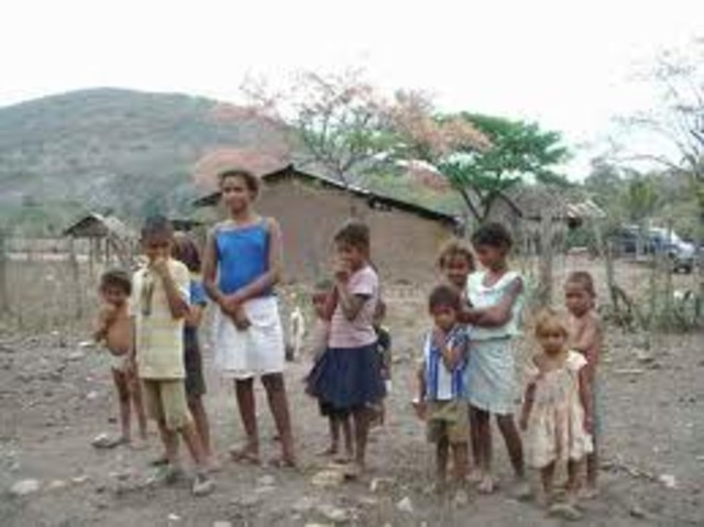 """""""descubrimiento"""" de la pobreza en Asia Africa y America Latina"""