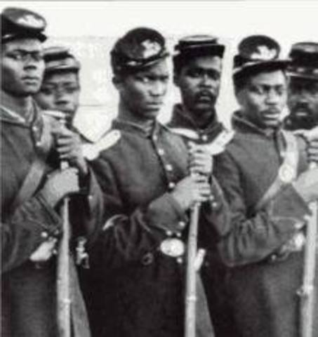 Congress Allows Enlistments of Blacks into Union Army