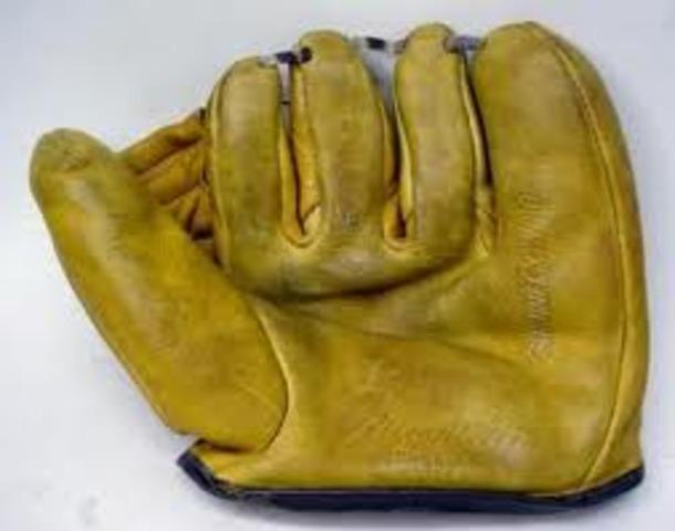 1950s baseball glove