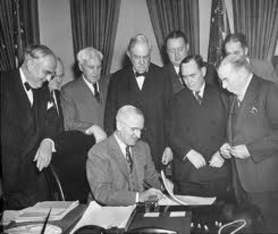 Formulacion del Plan Marshall
