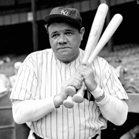 Babe Ruth was sold to the New York Yankees