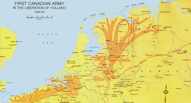 Germans Surrender the Netherlands