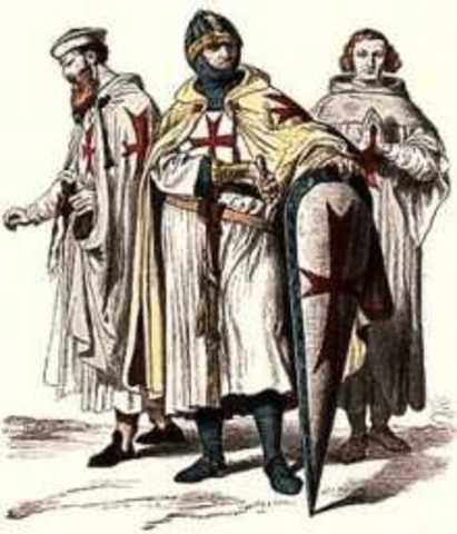 Templars are killed