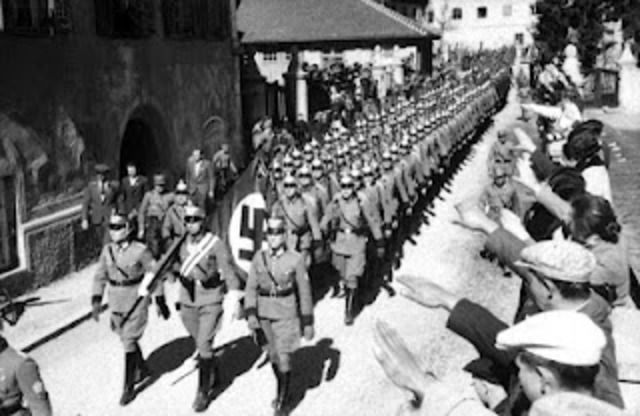 German Invasion of Austria, Czechoslovakia, and others