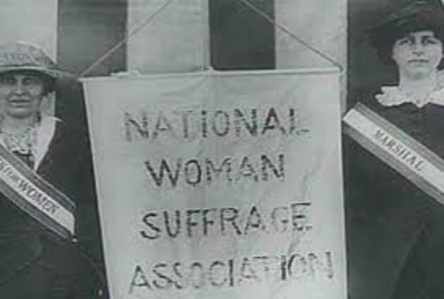 National Woman Suffrage Association
