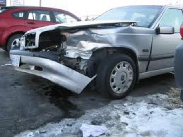 Crashed my car