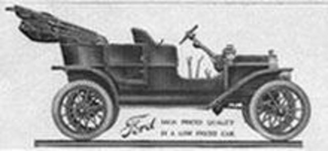 Ford Model T First Produced