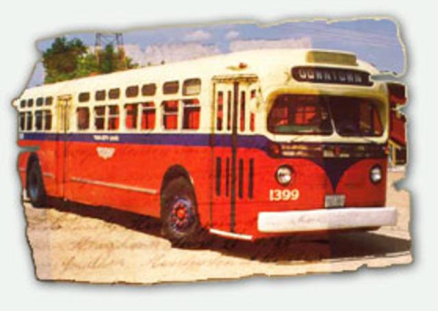 Buses Bump Streetcars