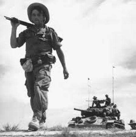 Vietminh-French War begins