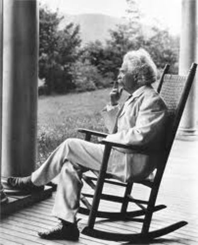 """The story that Mark Twain ever wrote was called """"Jim Smiley and His Jumping Frog""""  published in"""