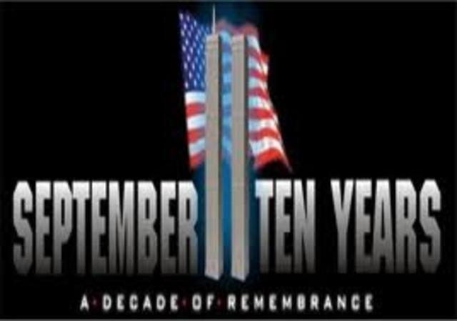 Ten Year Memorial of 9/11