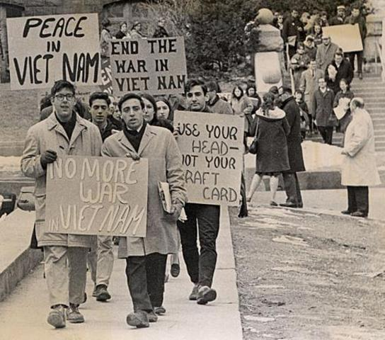 Veterans Stage Anti-War Rally