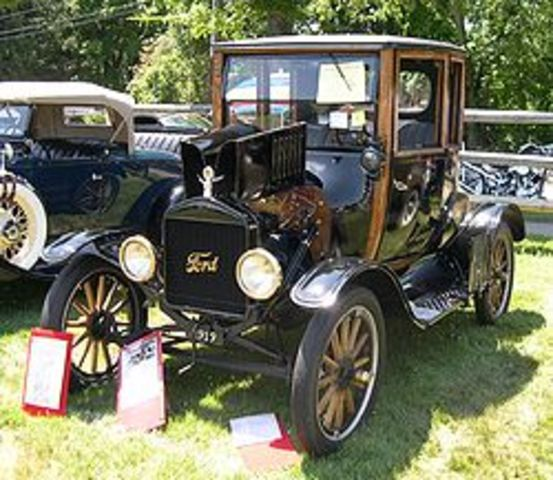 First Ford Model T produced