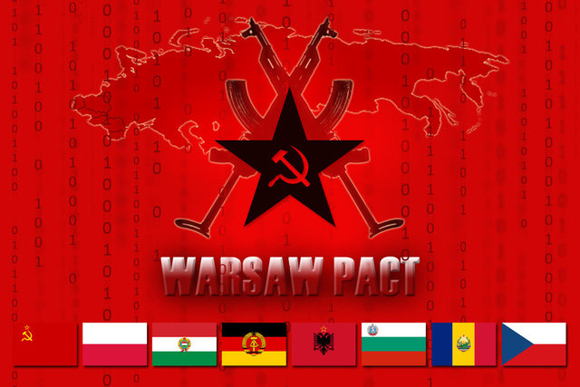 Warsaw Pact is formed.