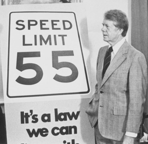 Speed Limit Changes to 55