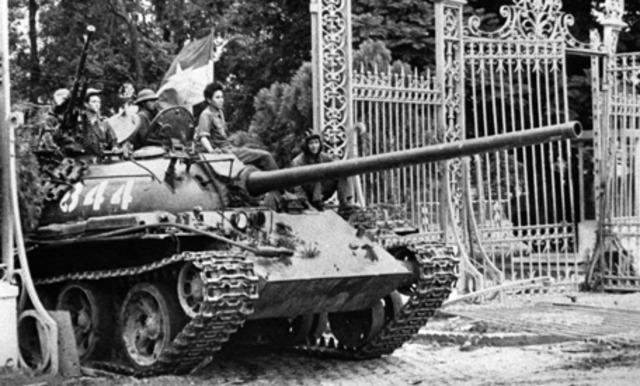 The war ends; the fall of Saigon