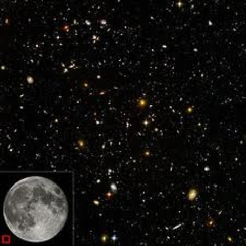 450 BCE Anaxagoras proposes an infinitely large universe composed of atoms and empty space