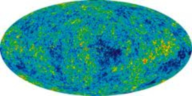 American astronomers Amo Penzias and Rovert Wilson stumble upon cosmic microwave backround radiation while testing a highly sensitive antenna